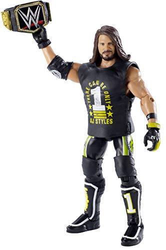 WWE AJ Styles Elite Top Picks Action Figure