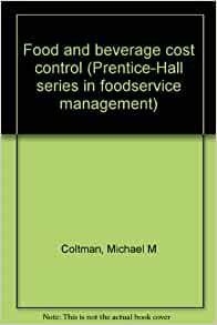 Food And Beverage Cost Control Free Download