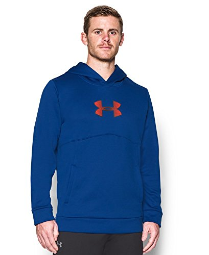 Under Armour Men's Storm Icon Logo Hoodie, Royal (400), Small