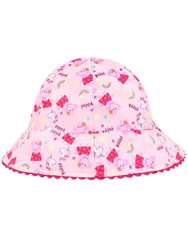 - Peppa Pig Girls' Unicorn Sun Hat One-Size Pink