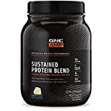 GNC AMP Sustained Protein Blend, Confetti Cake, 2.1 lbs