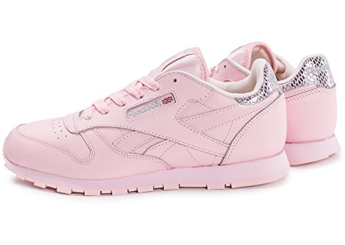 Reebok - Classic Leather Metallic - BD5898 - Color: Rosa - Size: 34.5