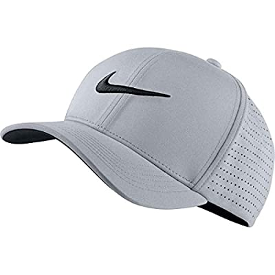 NIKE Men's Classic 99 Fitted Golf Hat, Wolf Grey, XSmall/Small