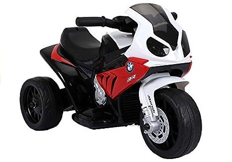 Moto Electrico para Niños Motocicleta Alimentado con Batería Vehículo Eléctrico - BMW S1000RR - Rojo: Amazon.es: Juguetes y juegos