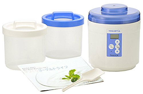 Start Set Yogurutia Blue Ym-1200-nb [Corresponding to Amazake-natto Kefir Yogurt / Marketed in the Caspian Sea Temperature Control Tanica] (japan import)