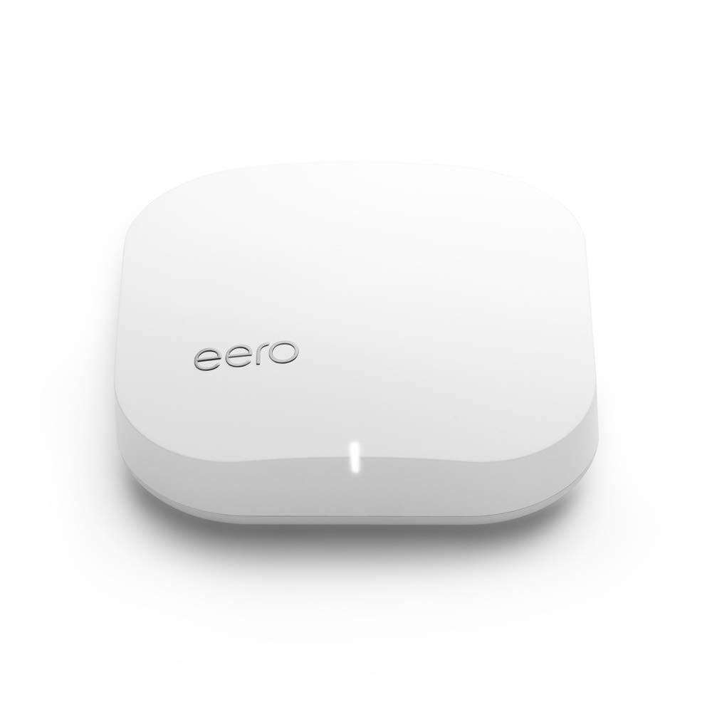 eero Pro - Advanced Pro-Grade Tri-Band Mesh WiFi System to Replace Traditional Routers and WiFi Range Extenders - Single eero Pro for homes and apartments by eero