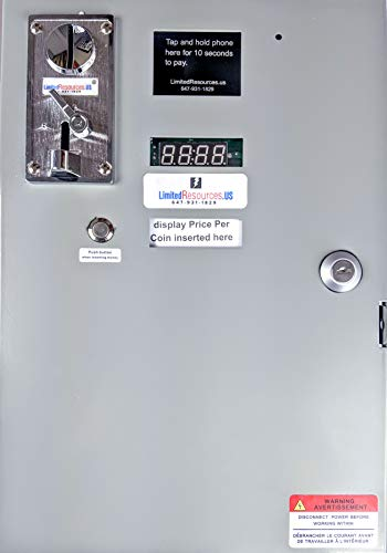 Coin Operated Timer Control Power Supply box 110V