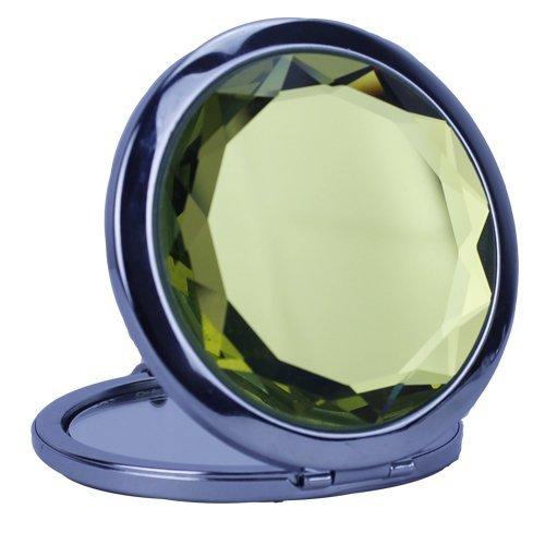 Diamante Bow Compact Mirror Party Make Up Pocket Bag Mirrors Color May -