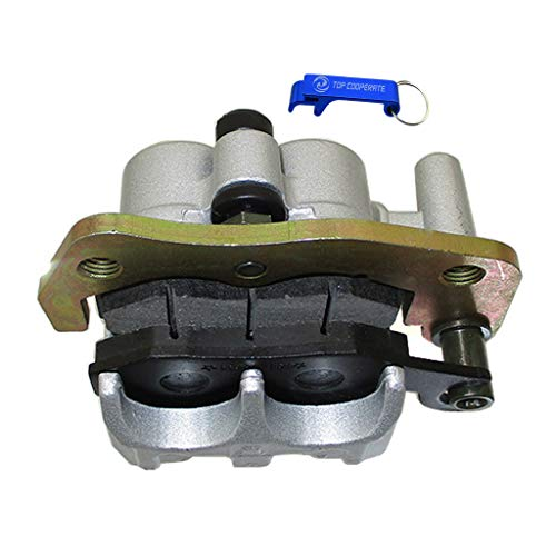 TC-Motor R700 Aftermarket Left Front Brake Caliper With Brake Pads For Kazuma Dingo Falcon 110cc 150cc 250cc ATV Quad ()