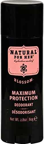 Herban Cowboy Women's Deodorant, Blossom, 2.8 Ounce