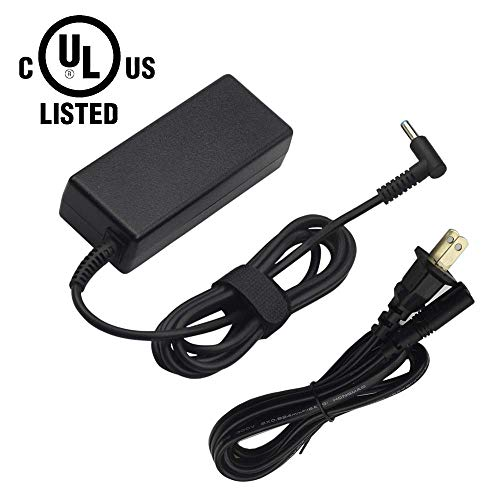 45W AC Charger Fit for HP 15-d020nr 15-d017cl 15-g067cl 15-rr100 741427-001 TouchSmart Notebook PC Series Power Supply Adapter Cord