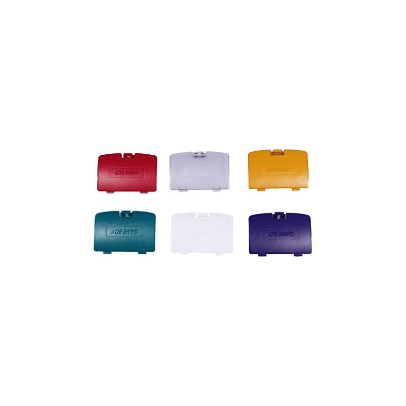 eJiasu Battery Cover Replacement for Gameboy Color (12pcs multiclor)