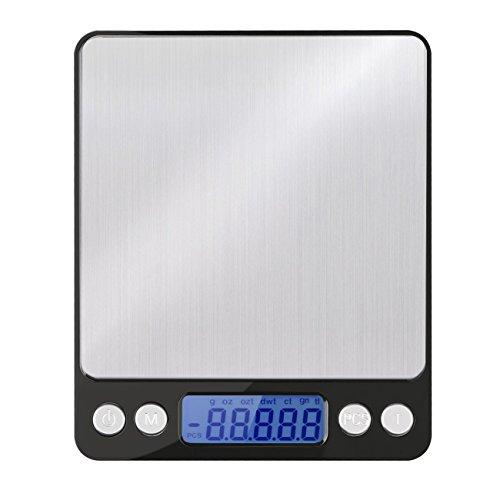 Erayco Digital Kitchen Scale, 0.01oz/0.1g 3000g Digital Pro