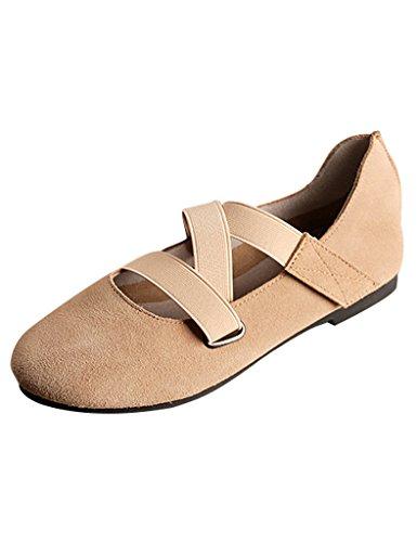 Mujer de Zapatos Amarillo suave inferior ballet Youlee Primavera AUtzqwdA