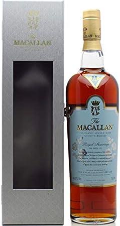 Macallan - Royal Marriage Wedding 2011 - Whisky