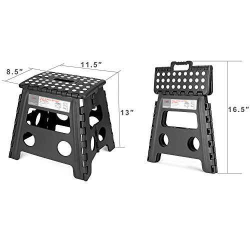 Acko Folding Step Stool 13 Inch Height Premium Heavy