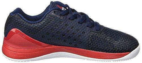 Reebok R Crossfit Nano 7.0 B, Zapatillas de Running para Mujer Varios colores (Collegiate Navy / Primal Red / White / Black)