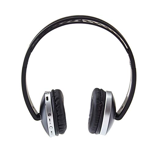 Envent Saber 300 Bluetooth Headphone with Mic and FM  Black