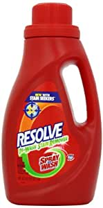 Resolve In Wash Stain Remover, 40 Ounce