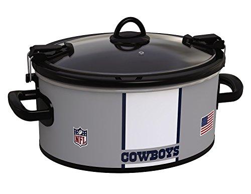 Crock-Pot Dallas Cowboys NFL 6-Quart Cook & Carry Slow Cooker
