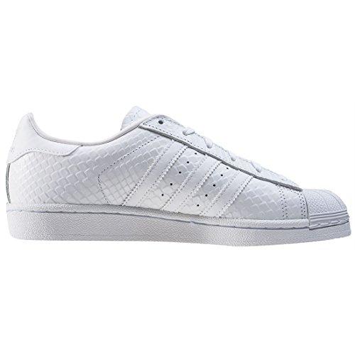 Adidas Superstar Pelle Donna Liscia Sneaker Bassa W 66dwqvxr