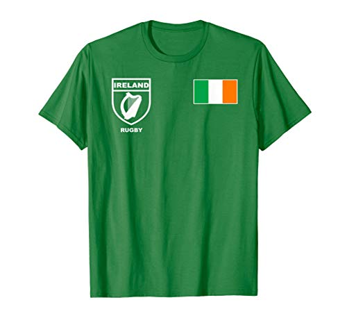 5107bca973 Ireland Irish Rugby Jersey Shirt Tee