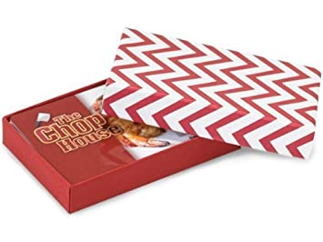 Amazon chevron stripe red gift card boxes pack of 6 health chevron stripe red gift card boxes pack of 6 negle Choice Image
