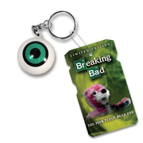 Breaking Bad - The Pink Teddy Bear Eye Keychain (NYC ComicCon Exclusive)