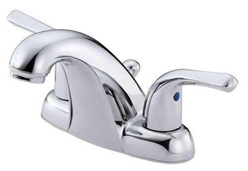 Danze D212111 Melrose Two Handle Lavatory Faucet with Lever Handles, Chrome