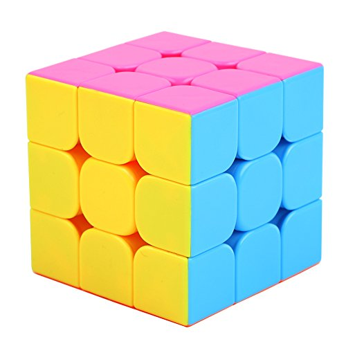UROPHYLLA Speed Cube, Speed Magic Cube 4x4x4 Stickerless Smooth Cube Tension can be adjusted Super-durable with Vivid Colors includes Game Manual Best Gift for Children