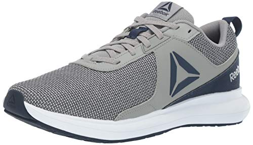Reebok Men's DRIFTIUM Running Shoe, Collegiate Navy/White/True Grey/Alloy, 7 M US