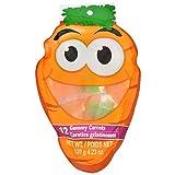 12 Gummy Carrots Net Wt./ 120 g 4.23 0z each (1 pack 12 gummy each)