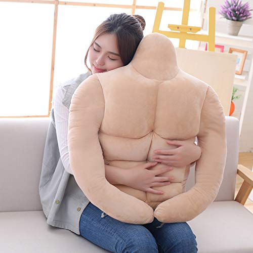 I Love T-Shirt Creative Plush Pillow Muscle