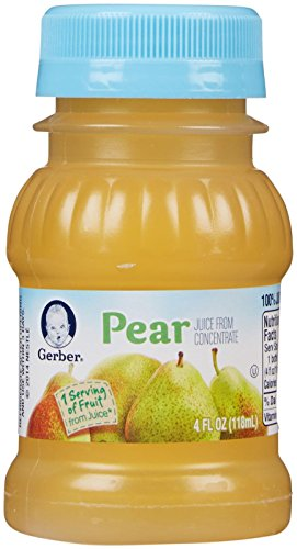 Gerber Juice - Pear - 4 fl oz - 24 pk
