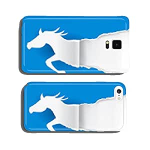 Paper Horse ripping paper cell phone cover case iPhone6 Plus