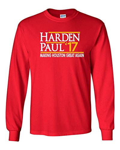 The Silo LONG SLEEVE RED Houston Harden