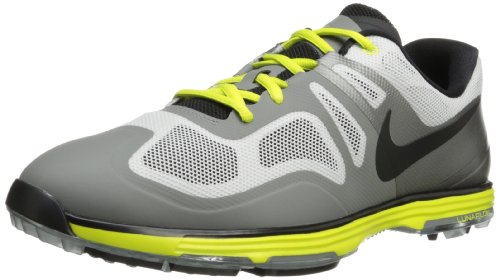 buy popular 3e207 1b057 ... nike golf mens nike lunar ascend ii golf shoelight base grey med base .  ...