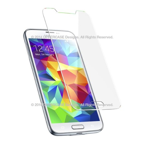 buy popular 0cb16 6be77 UPPERCASE Premium Tempered Glass Screen Protector for Samsung Galaxy ...