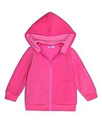 Ashiner Long Sleeve Zip-Up Hoodie Jacket for girls