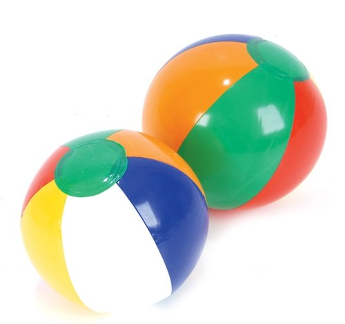 6'' MULTICOLORED BEACH BALL, Case of 864 by DollarItemDirect