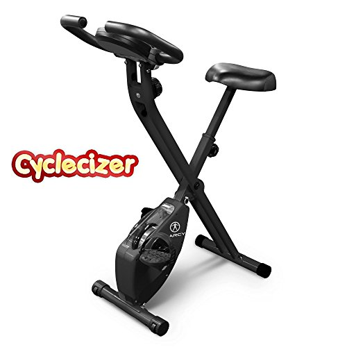 Exercise Bike Upright Stationary For Home Fitness Seniors Aerobic Pedal Exerciser Foldable Equipment