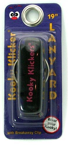 Kooky Lanyard - 19 Black Lanyard by Kooky Klickers