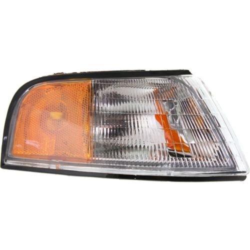 Lumina Sedan Headlight Headlamp - Make Auto Parts Manufacturing - LUMINA 90-94 CORNER LAMP RH, Lens and Housing, Sedan/Coupe - GM2551112
