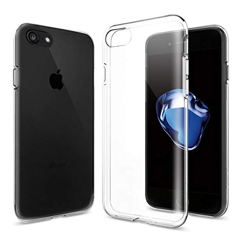 Spigen Liquid Crystal iPhone 7 Case with Slim Protection and Premium Clarity for iPhone 7 (2016) - Crystal Clear