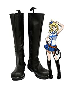 Fairy Tail Lucy Cosplay Shoes Boots Custom Made
