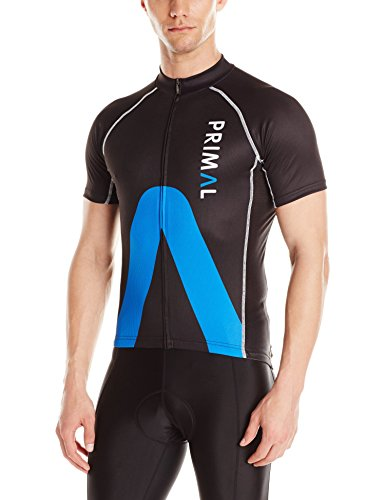 Primal Wear Men's ARO Evo Jersey, Medium, Blue