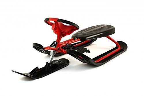 STIGA Schlitten Snow Racer Ultimate Pro, Rot, 73-2311-05
