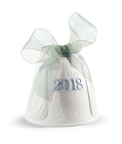 Lladro 2018 Bell Christmas Ornament ()