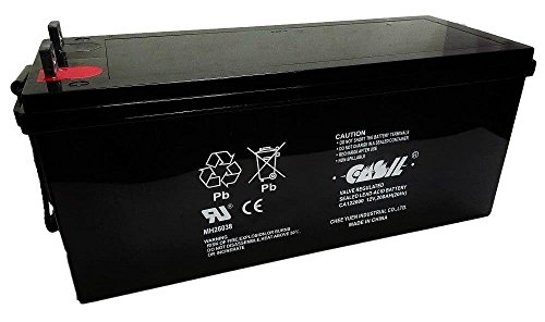 Casil 12v 200ah for SLA AGM 4D Battery by CASIL