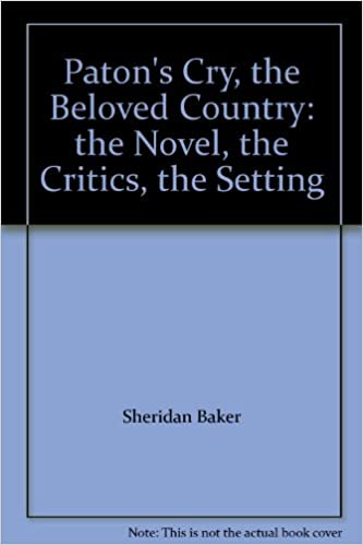 cry the beloved country setting